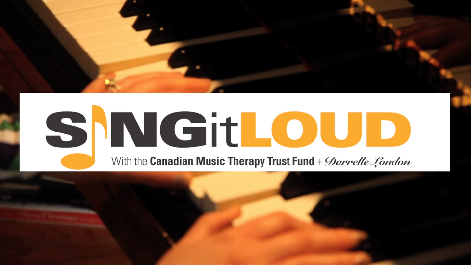 Sing It Loud-Darrelle London For Music Therapy